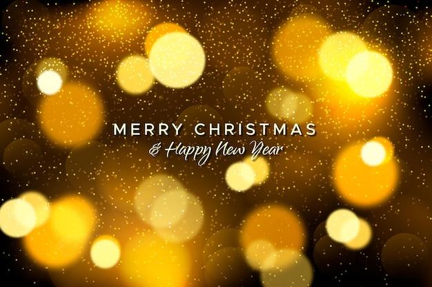 Christmas sprkling background