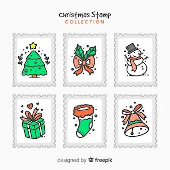 크리스마스 스탬프 수집
