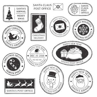 Рождественская марка