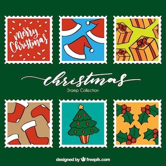 Установлены рождественские марки