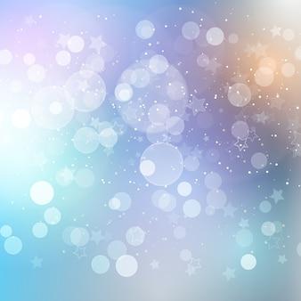 Christmas star background