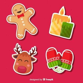 Christmas sticker assortment