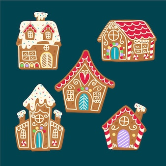 Christmas story for children with gingerbread house