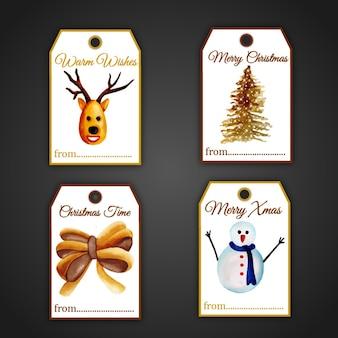 クリスマスタグコレクション