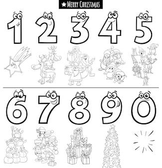Рождественская тематическая мультяшная игра