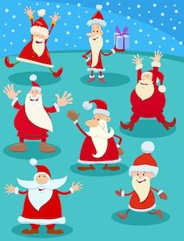 Рождественский тематический мультяшный набор