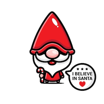 Рождественский тематический мультфильм чиби
