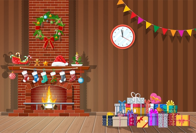 Christmas themed colorful background