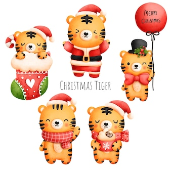 Рождественский тигр, год тигра 2022