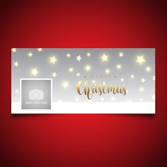 Christmas timeline cover design