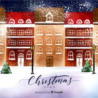 Рождественский город