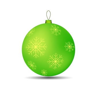Christmas toy ball for tree bright
