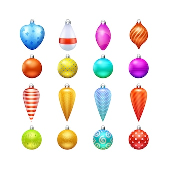 Christmas toys and decorations
