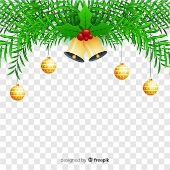 Christmas in transparent background