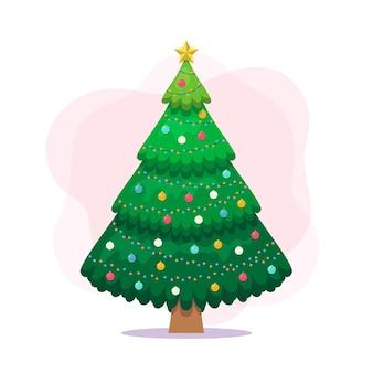 Концепция рождественской елки