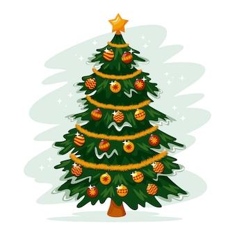 Christmas tree concept