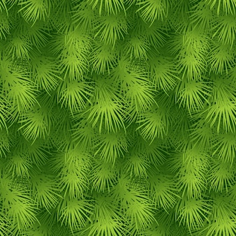 Christmas tree fir branch seamless background. vector illustration eps 10