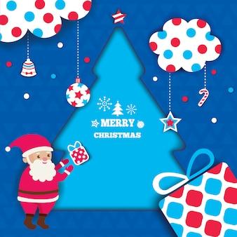 Christmas-tree-frame-santa