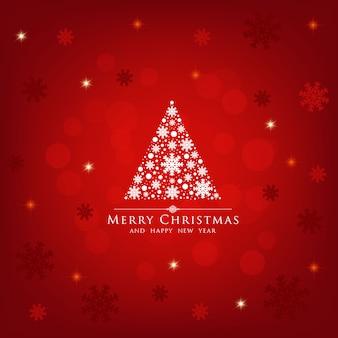 Christmas tree holiday background.