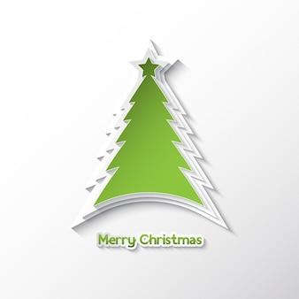 Абстрактный фон с дизайн рождественской елки