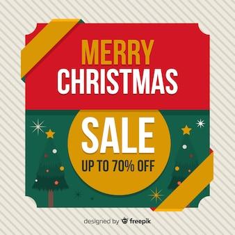クリスマスツリーの販売の背景