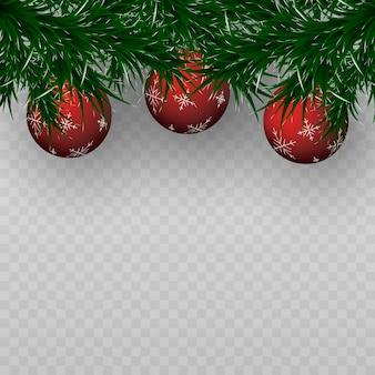 Christmas tree toys garland spruce christmas holiday