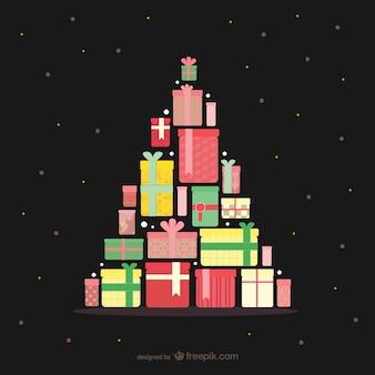 선물 크리스마스 트리