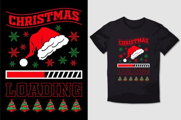 Christmas tshirt design  christmas loading