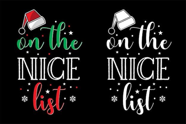Рождественская типография дизайн футболки рождественский вектор типографии дизайн футболки