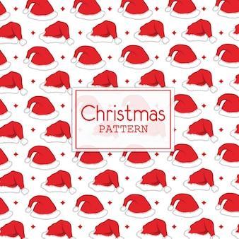 クリスマスベクトルの背景
