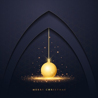 Christmas vector design greeting card
