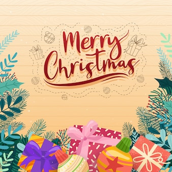 クリスマスのベクトルアイコンクリスマスクリスチャンの新年の装飾イラスト