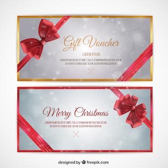 Christmas voucher pack