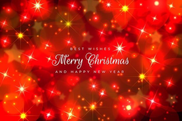 반짝이는 요소가있는 크리스마스 벽지