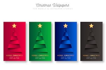 モバイル&インスタントグラフストーリーのクリスマスの壁紙