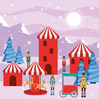 Christmas winter worderland