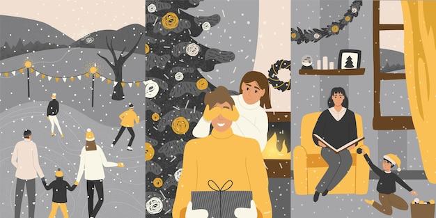 家族とのクリスマス。
