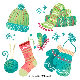 Christmas wool accessories