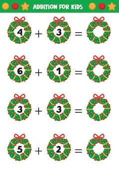 Christmas worksheet a4 vertical