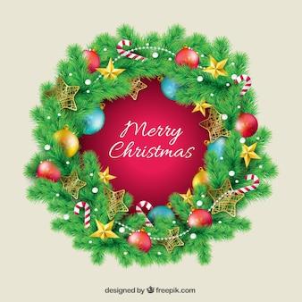 Рождественский венок знак
