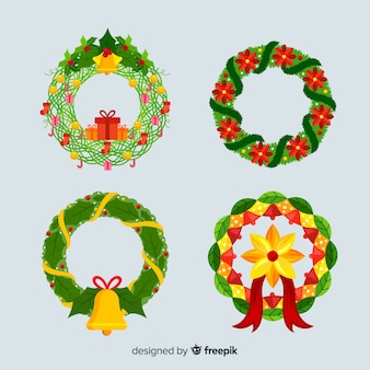 Christmas wreath collection