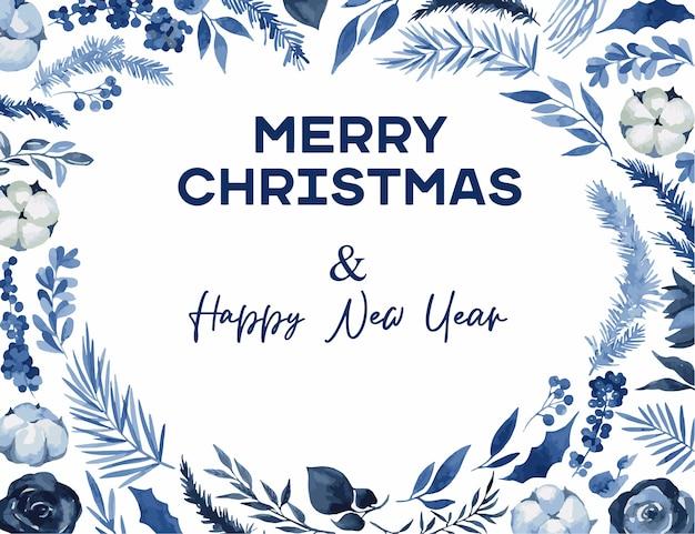 トウヒとユーカリの枝とクリスマスリース