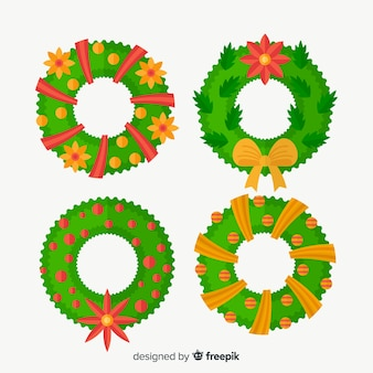 Christmas wreaths collection