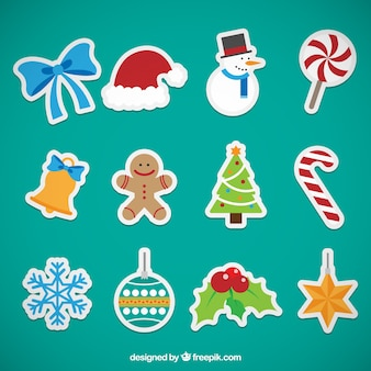 Christmast icons collectio
