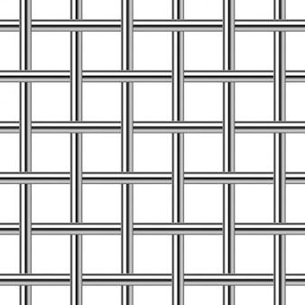 Chrome metal grid seamless background