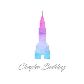 Chrysler building, polygonal shapes