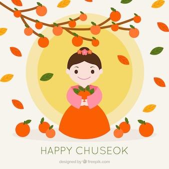 Chuseak festival background