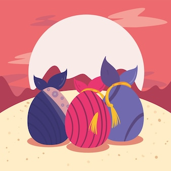Chuseok presents and moon