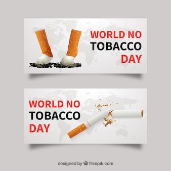 Cigarette banners
