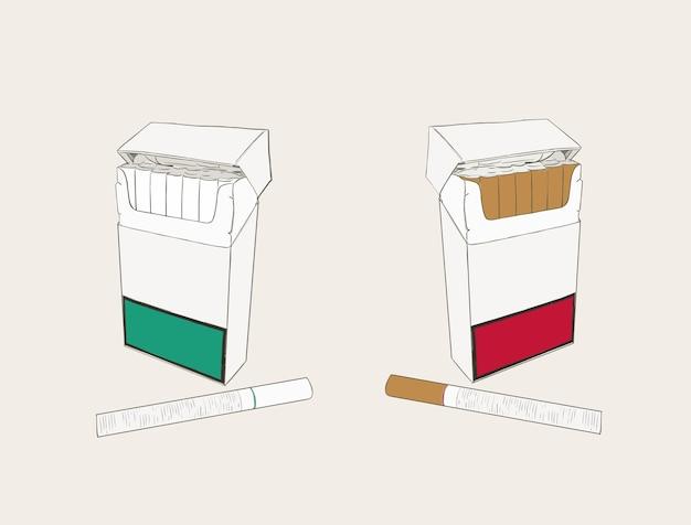 Cigarettes pocket